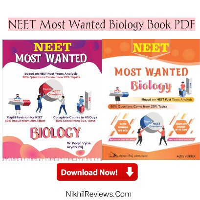 NEET Most Wanted Biology Book PDF Free Download