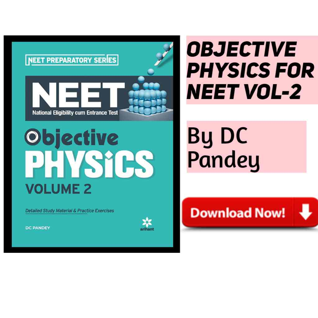 Objective Physics For NEET Vol 2 PDF Download