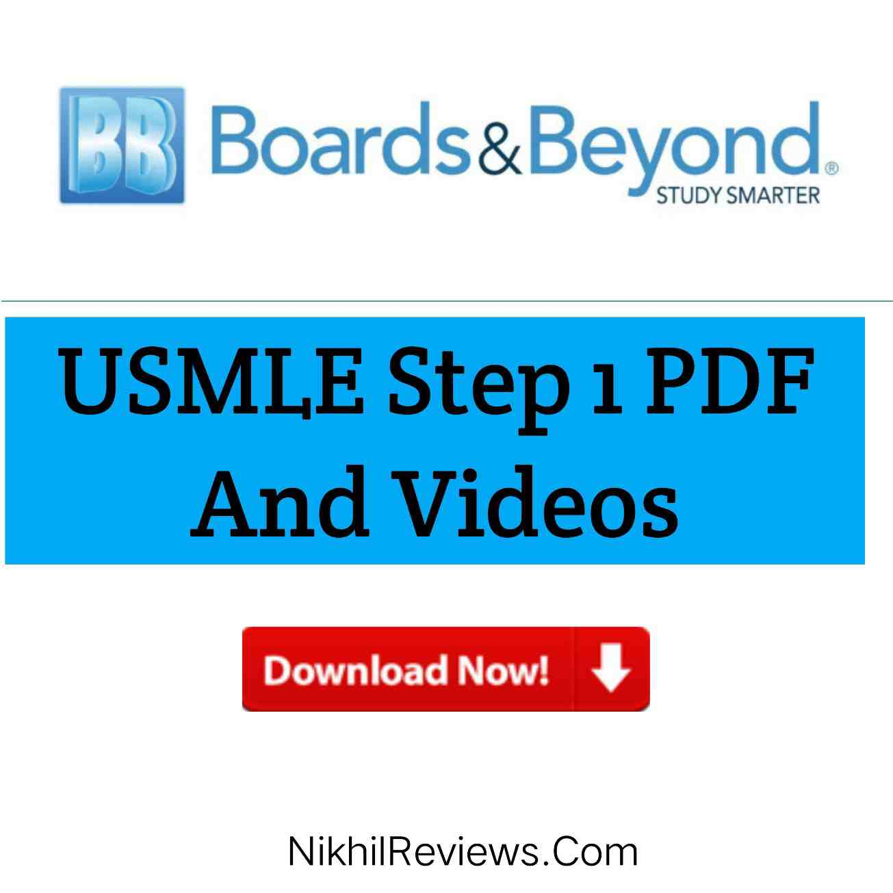 Board And Beyond USMLE Step 1 Videos And PDF Download